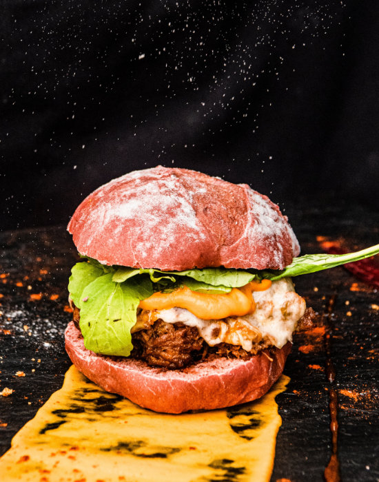 Rinder Burger