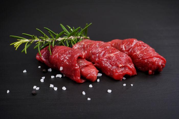 Rindsruladen Rind Fleisch Wamayu Waging